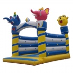 lovely elephant inflatable bounce house/cartoon elephant inflatable jumper
