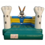rabbit bunny inflatable bouncer house