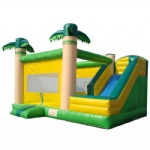 Tropical Jungle inflatable inflatable bouncer/ palm inflatable combo