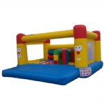 internal obstacle inflatable jumper