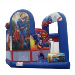 super man inflatable bouncy castle