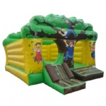 tree house inflatable bouncer
