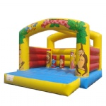 Jungle Life inflatable bouncer