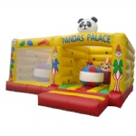 pandas palace inflatable combo bouncy house