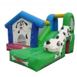 Cute Dalmatian Bounce House & Slide Combo