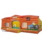 Farm inflatable bounce house