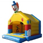 Spots Clown Bounce House