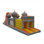 planet inflatable obstacle