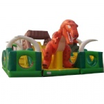 Jurassic Park inflatable interactive/ Dinosaur World inflatable playground