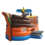 Marine ships inflatable bounce house