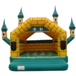 The old Mansion inflatable castle
