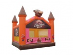 chocolate drink inflatable castle house