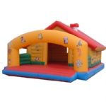 farm house inflatable bouncer