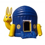 rabbit inflatable jumping house/ moonwalk