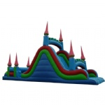 steeple inflatable slide