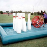 inflatable Human Bowling game