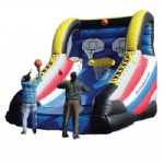 inflatable game basketball shoot