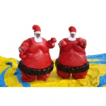 inflatatable Summo Wrestlers Close up