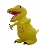 inflatable dinosaur cartoon advertising