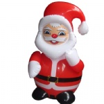 inflatable Santa Claus cartoon