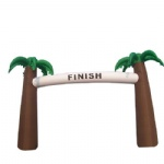 inflatable finish arches coconut tree archway