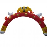 inflatable arches little dog model archway