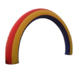 Inflatable Rainbow Arch Archway Inflatable Arched semicircle Door