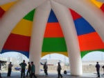 Inflatable spider dome tent 33ft for promotion