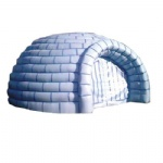 portable Inflatable screen igloo tents for cold weather
