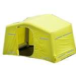 yellow air tight Inflatable structure Military army tents