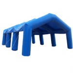 Gigantic  blue inflatable structure tents for Paintball games