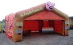 carpas hinchables inflatable catering tent for party rental