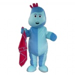 Iggle piggle cartoon Mascot costumes