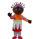 Upsy Daisy cartoon Mascot costumes