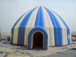 blow up inflatable igloo tents with tunnel entrance
