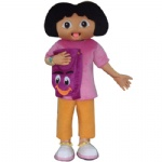 Dora the explore Disney Mascot Costume for adult