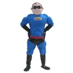 Mr. Incredible (Bob Parr) Disney mascot costume for adult