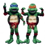 Ninja Turtles Disney mascot costume for adult