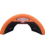 special orange inflatable arch shape tunnel tent for promotion activities