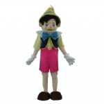 Pinocchio Disney mascot costume for adult
