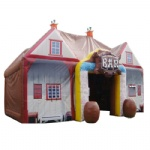 IT-157-beautiful air tight carnival portable and easy assembly bar inflatable tent