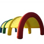 rainbow arch shape inflatable party tents with low cost