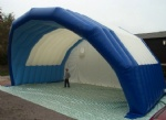 blue Inflatable event tent for Stage Covers