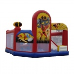The incrediables bounce castle combo 3 in 1