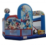 BC-093-bouncy inflatable castle Disney cartoon mickey, Donald duck & daisy kids