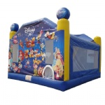 Disney cartoon character bounce house