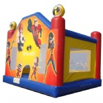the incrediables Bounce house