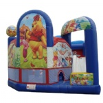winnie the pooh inflatable castle for kids