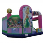 Tinker Bell  inflatable castle for kids