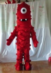 muno costume of yo gabba gabba 2012 hot sales